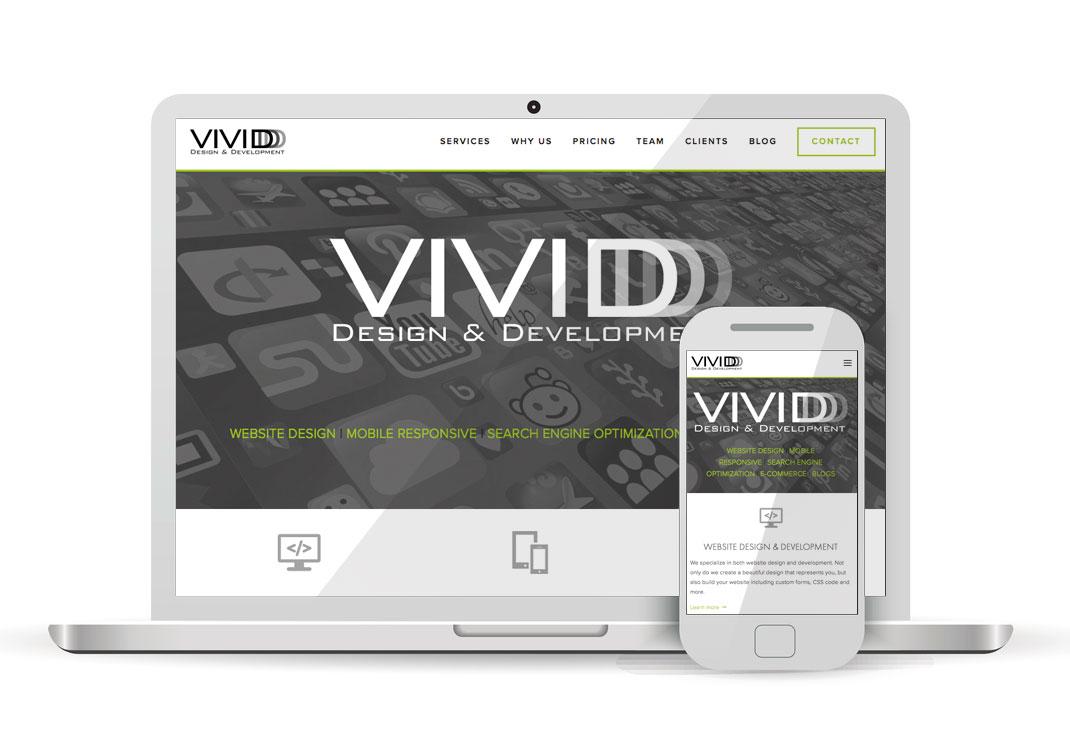 VIVIDDD Squarespace Website Design
