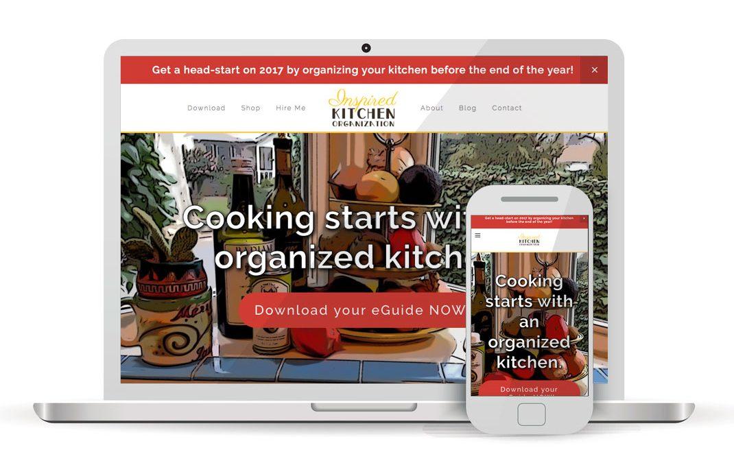 Inspired Kitchen Organization
