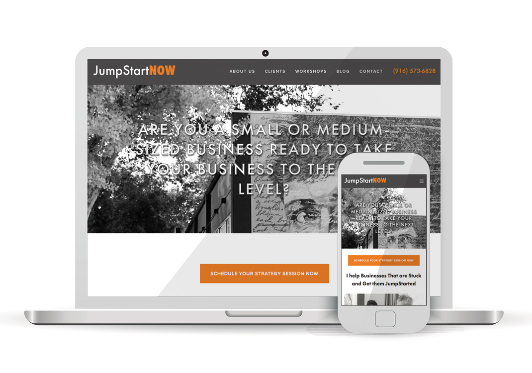 JumpStartNOW Squarespace Website Design