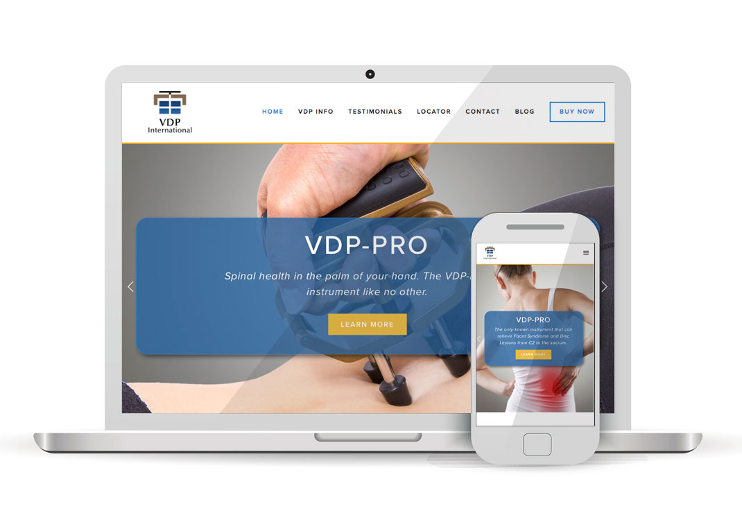 VDP-PRO International Squarespace Website Design