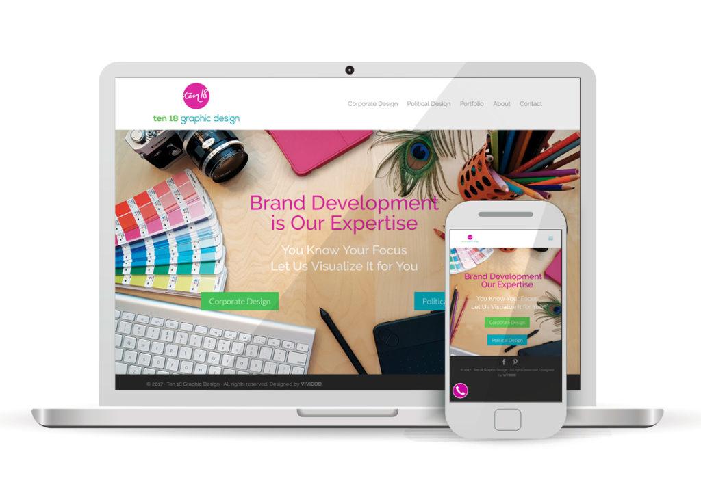 Client Portfolio Ten 18 Graphic Design | Wordpress Website Design