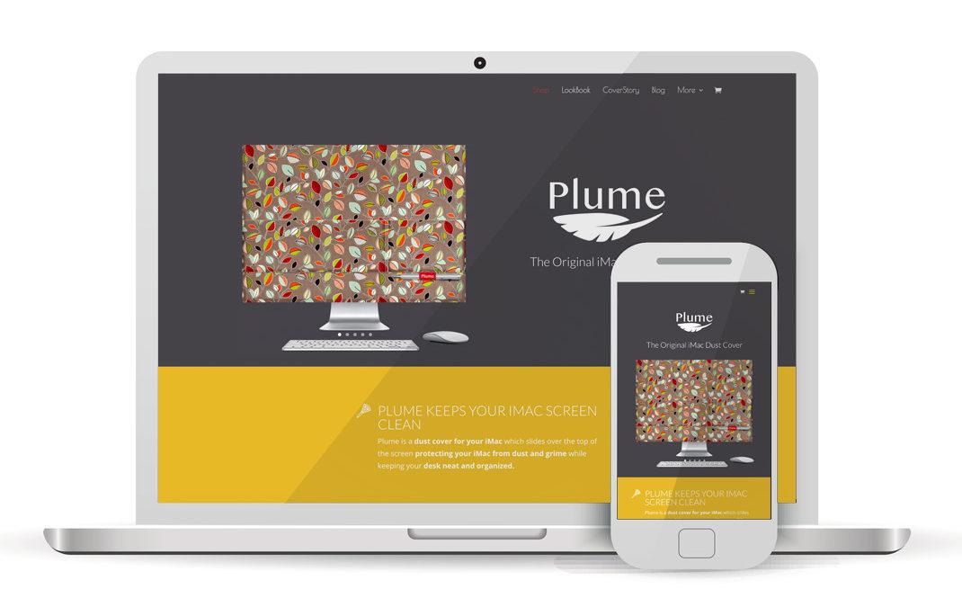 Plume Covers WordPress Website