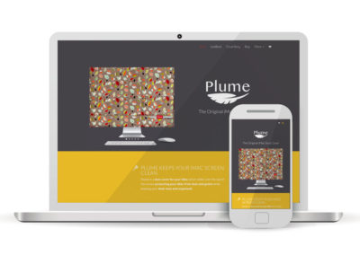 Plume Covers WordPress Website