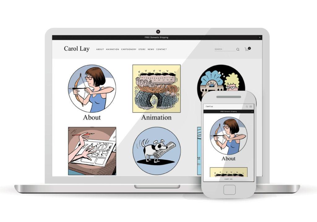 Client Portfolio Carol Lay Sacramento | Squarespace Ecommerce Website Design