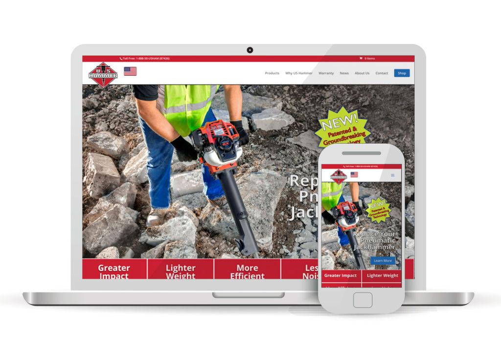 Client Portfolio U. S. Hammer Woodland | Wordpress Ecommerce Website Design