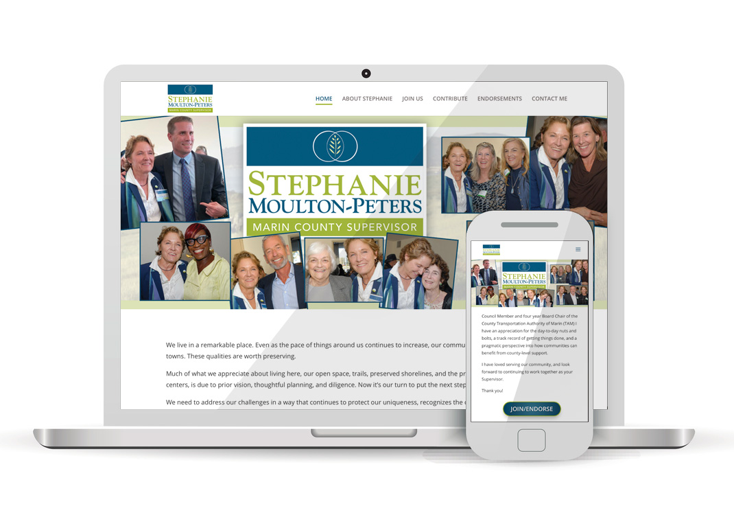 Stephanie Moulton Peters 2020 WordPress Website Design