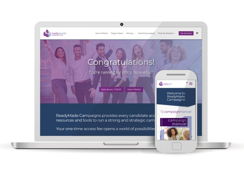 Client Portfolio Ready Made Campaign Tools Sacramento | Wordpress Ecommerce Website Design